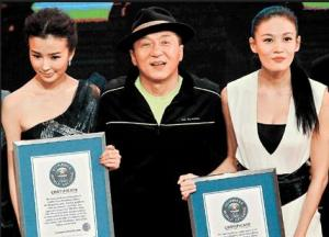 jackie chan broke world records